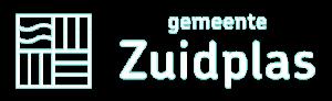 Logo duurzaam zuidplas wit