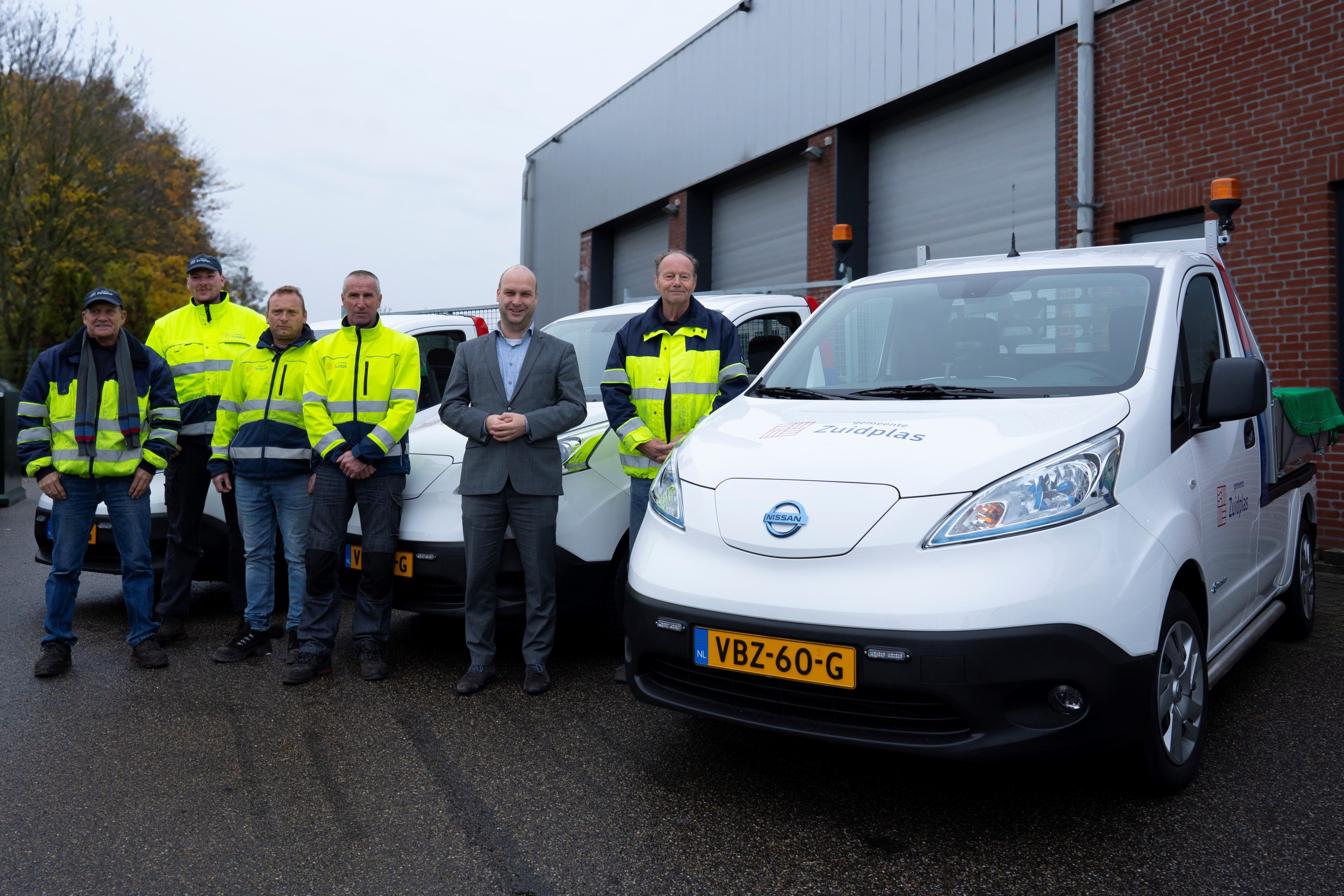 Elektrische auto's voor wagenpark