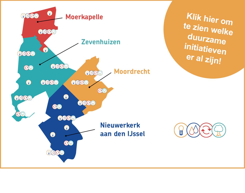 Interactieve kaart met duurzame initiatieven in Zuidplas
