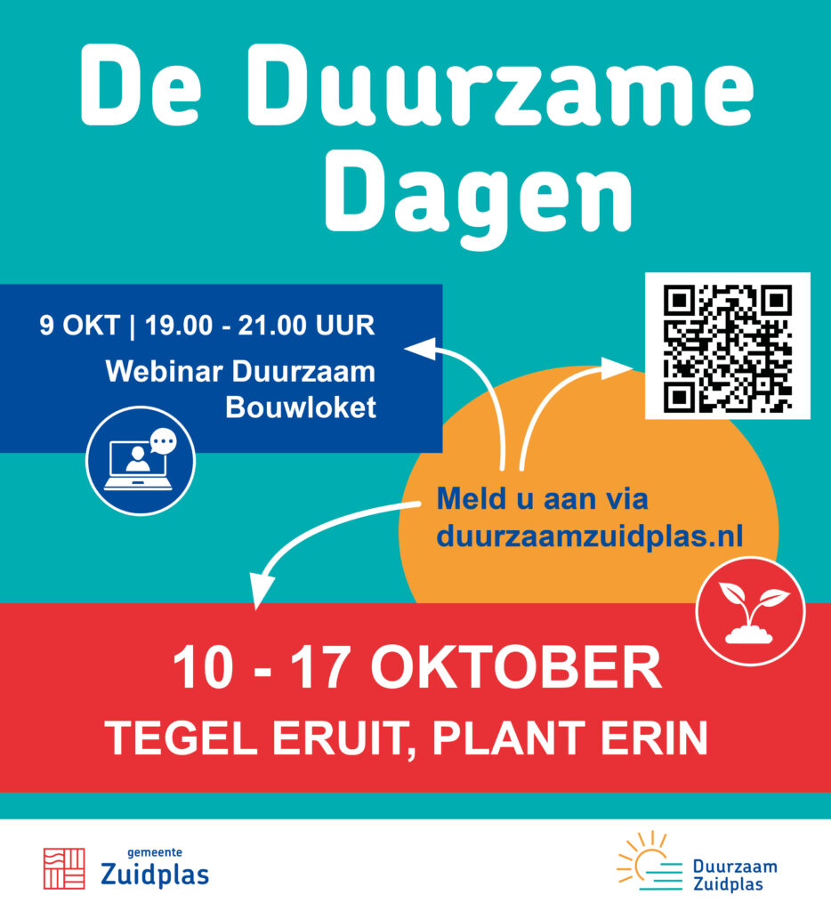 Uitnodiging voor de Duurzame Dagen