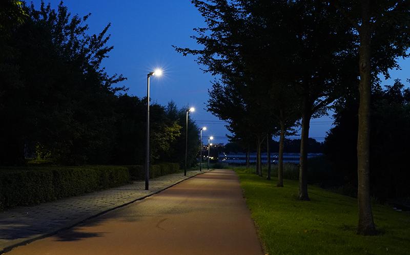 Lantaarnpalen met ledverlichting