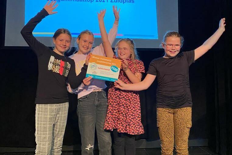 De Montessorischool en de Gideonschool winnen de Jeugdklimaattop 2021!